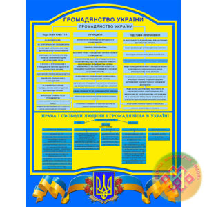 Стенд Громадянство України